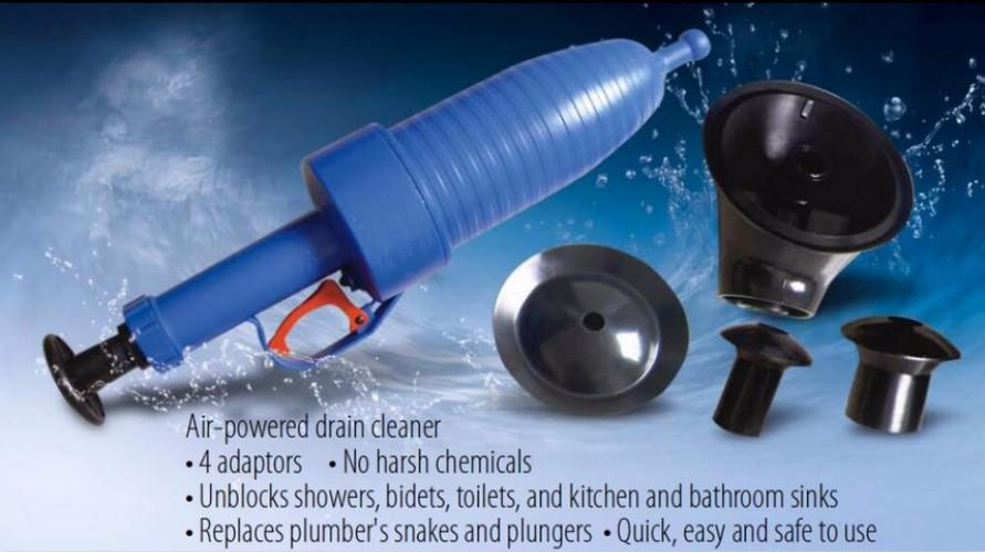... Pressure Pipeline Dredge Device Floor Drain Bathtub Plunger ToiletInflator Sucker - intl ...