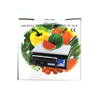 Professional Precision Digital Price Computing Scale (Black) - 5