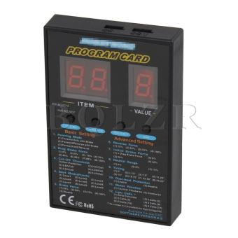 Program Card for Speed Controller (Black) - picture 2