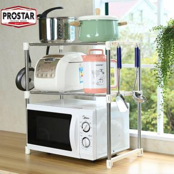 Prostar 2 tier Stainless Steel Microwave Stand / Shelving / Racking