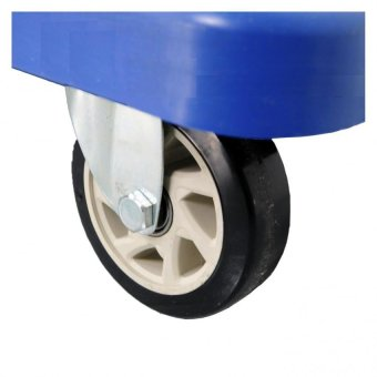 Prostar Stainless Handle 300 Kg Capacity Platform Hand Truck (Blue) - 4