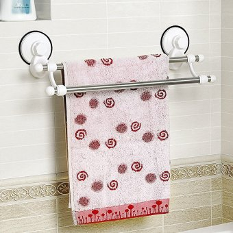 Quality Magic Sucker Double Layer Towel Rack SQ-1807 Price Philippines
