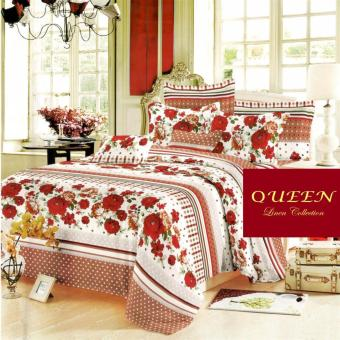 Queen Classic Linen Collection Fitted Bedsheet Set of 3(AOIE-059)