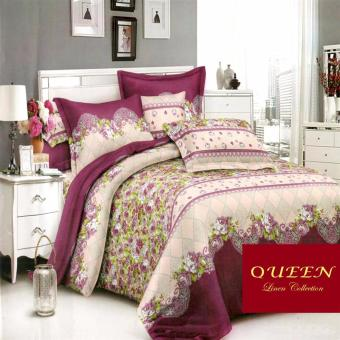 Queen Classic Linen Collection Fitted Bedsheet Set of 3(AOIE-063)