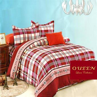 Queen Classic Linen Collection Fitted Bedsheet Set of 3(AOIE-064)
