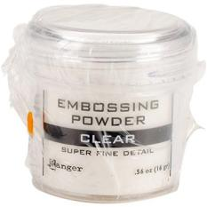 Ranger Embossing Powder\\; 0.56 Ounce Jar\\; Super Fine Clear Philippines