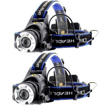 Rechargeable Aluminium Ultra Bright Bicycle Light Headlamp Set Of 2 Price Philippines