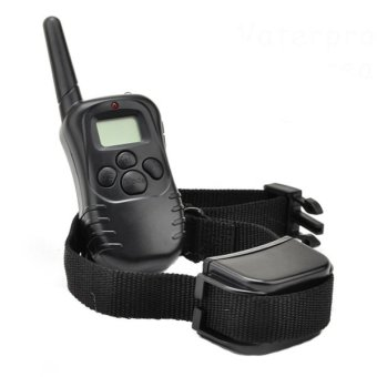 Rechargeable and Waterproof Training Collar (Black)