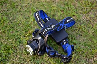 Rechargeable LED Head Lamps CREE T6 Flashlight - intl - 4