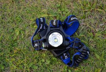 Rechargeable LED Head Lamps CREE T6 Flashlight - intl - 3