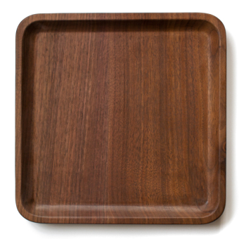 Rectangular Black Walnut Wood tea tray Wooden Tray