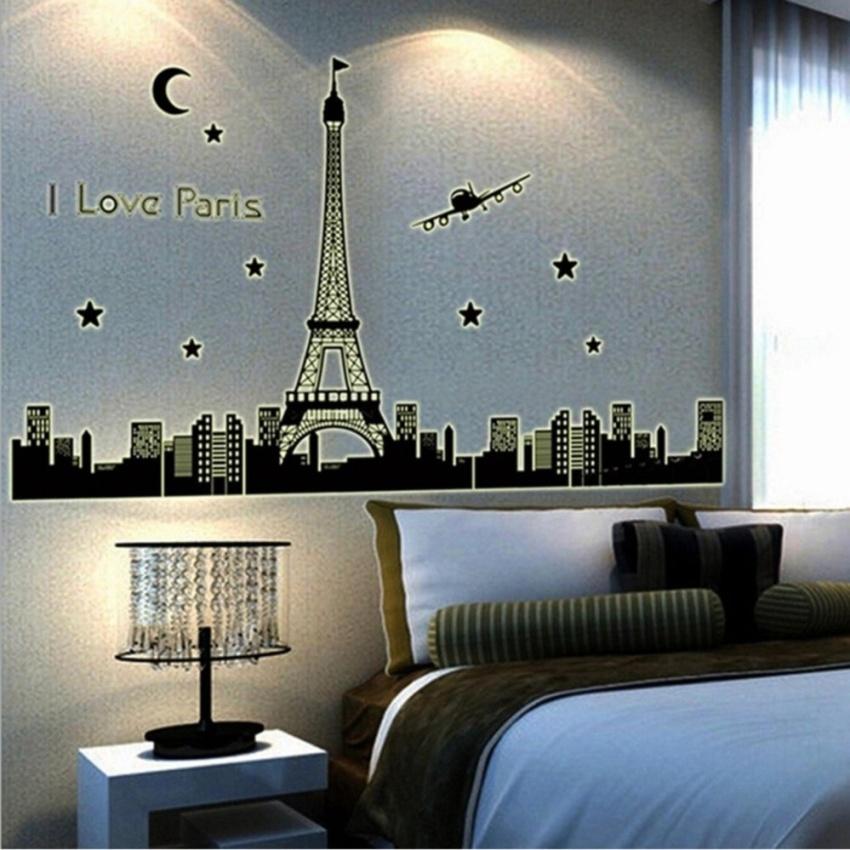 Philippines   Removable Glow In The Dark I Love Paris Eiffel ...