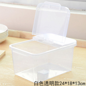 Rice storage box pest control moisture Migang powder keg plastic rice Bucket