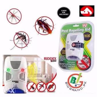 Riddex Quad Digital Pest Repelling Aid (As Seen On TV) SET OF 4 - 2