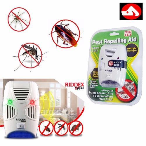 Philippines Riddex Quad Pest Repelling Aid Features Sonic Pest