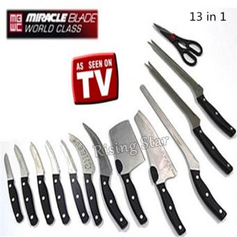 Rising Star Miracle Blade World Class 13PCS knife set TV