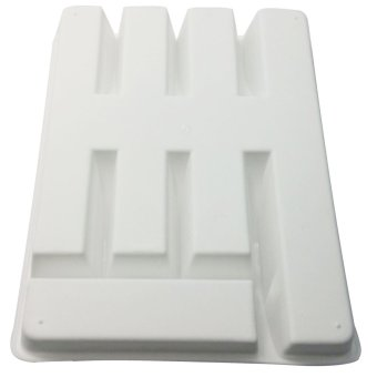 Royal Crown Cutlery Organizer Tray (White) - 3