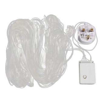 S & F 200 LED Web Net Fairy White Light for Christmas Wedding Party Garden (Intl)