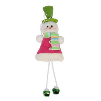 S & F Christmas bell ornaments doll- Intl