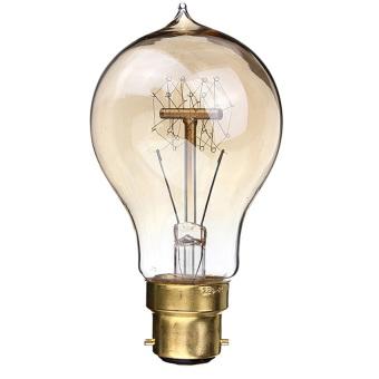 S & F 220V 60W A19-B22 Vintage Antique Edison Style Carbon Filamnet Clear Glass Bulb (Intl)