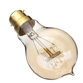 S & F 220V 60W A19-B22 Vintage Antique Edison Style Carbon Filamnet Clear Glass Bulb (Intl) - picture 2