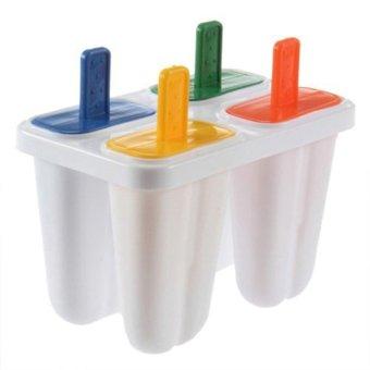 S & F Popsicle Maker Mold DIY Ice Cream Freezer 4Pcs - Intl - picture 2