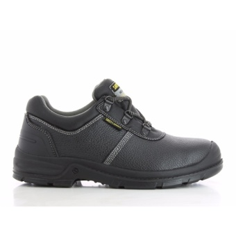 Safety Jogger Bestrun Steel Toe Cap and Steel Midsole Safety Shoes (Black)