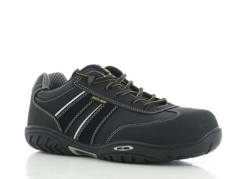 Safety Jogger Lauda Composite Toe Cap and SJ Flex Midsole Safety Shoes (Black) - 4