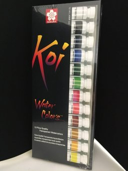 Sakura Koi Watercolors - 12 Colors