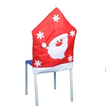 Santa Christmas Kitchen Chair Covers - picture 2