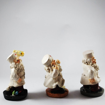 Santa Claus Doctor Set of 3 Figurines for the Holiday (Made ofFiberglass Resin) by Everything About Santa (Christmas decorationand gift suggestion) - 2