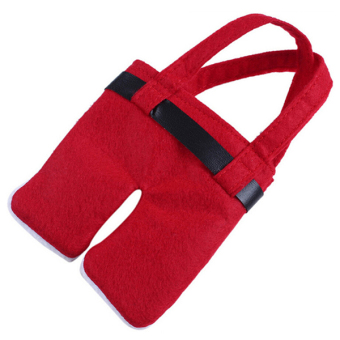 Sanwood® Santa Claus Cutlery Utensil Bags Pockets Christmas Decor - picture 2