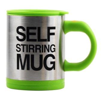 Self Stirring Coffee Mug Gift Set of 4 (Green) - picture 2