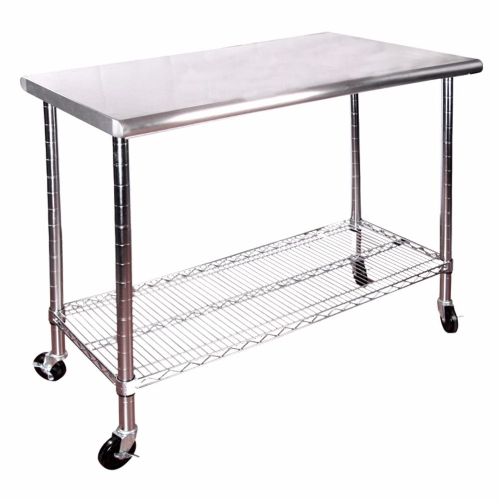 Philippines Seville Classics Stainless Steel Top Worktable W - Stainless steel work table price