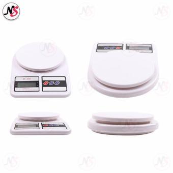 SF-400 Kitchen Scale 7Kg / 1g Convenient Precision Electronic Kitchen Scale SF400 (White) - 3