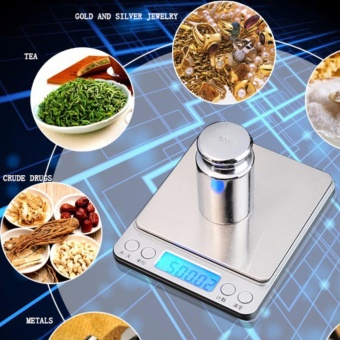 SF400 High Precision Kitchen Electronic Scale Household Food Electronic Baking Scale Medicine Scale 10kg - intl Price Philippines