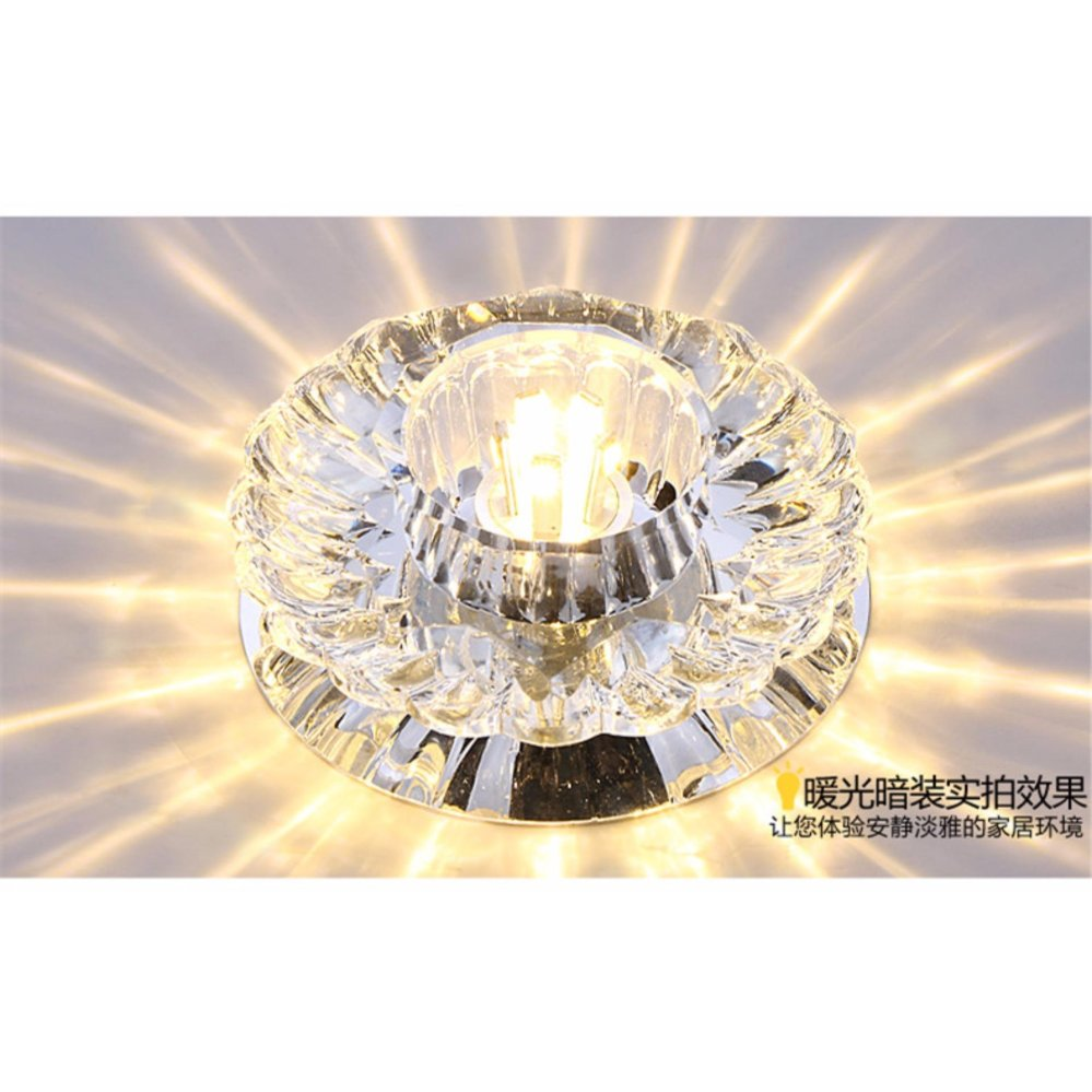Philippines shifan recessed led ceiling light 5w 10cm round