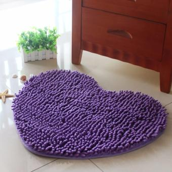 SHOP AND THRIFT HEART SHAPE DOORMAT FLOORMAT KITCHENMAT CARPETABSOBENT ANTI-SKID MAT