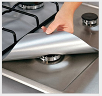 Silver Gas Range Protector Liner Reusable Price Philippines