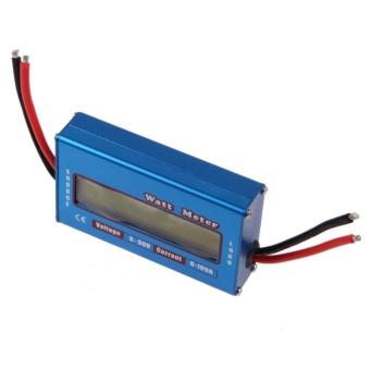 Simple DC Power Analyser Watt Volt Amp Meter 12V 24V Solar Wind Analyzer - intl - 4