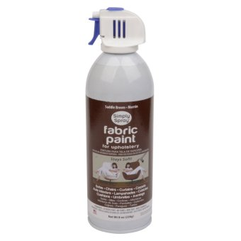 Simple Spray Upholstery Paint (Saddle Brown)