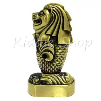 Singapore Merlion (vintage bronze)
