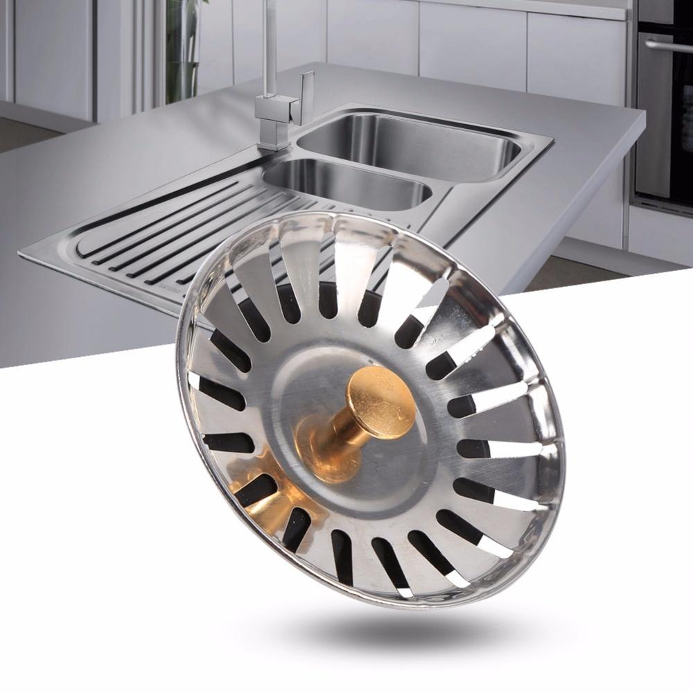 Sink For Kitchen Strainer Waste Plug