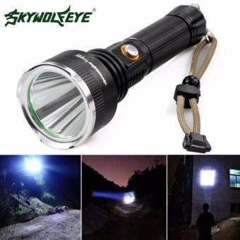 Sky Wolf 5000 LM CREE XM-L T6 LED Flashlight 18650 Torch Flashlight 5Modes -