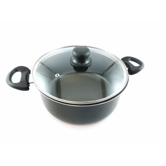 Slique 25pcs Aluminum Kitchen Sets (Black) - 3