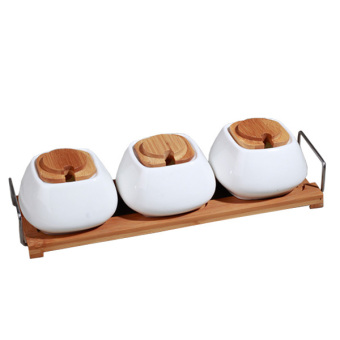 Slique 3pc Condiment Set