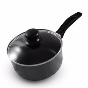 Slique Induction Sauce Pan 18cm Set of 2 (Grey) - 2