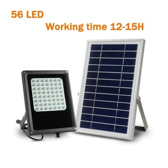 Smart Solar Powered Floodlights/Spotlight, Outdoor Waterproof Security Lights 56LED for Home, Garden, Lawn, Pool,Dusk to Dawn Automatically Working - intl