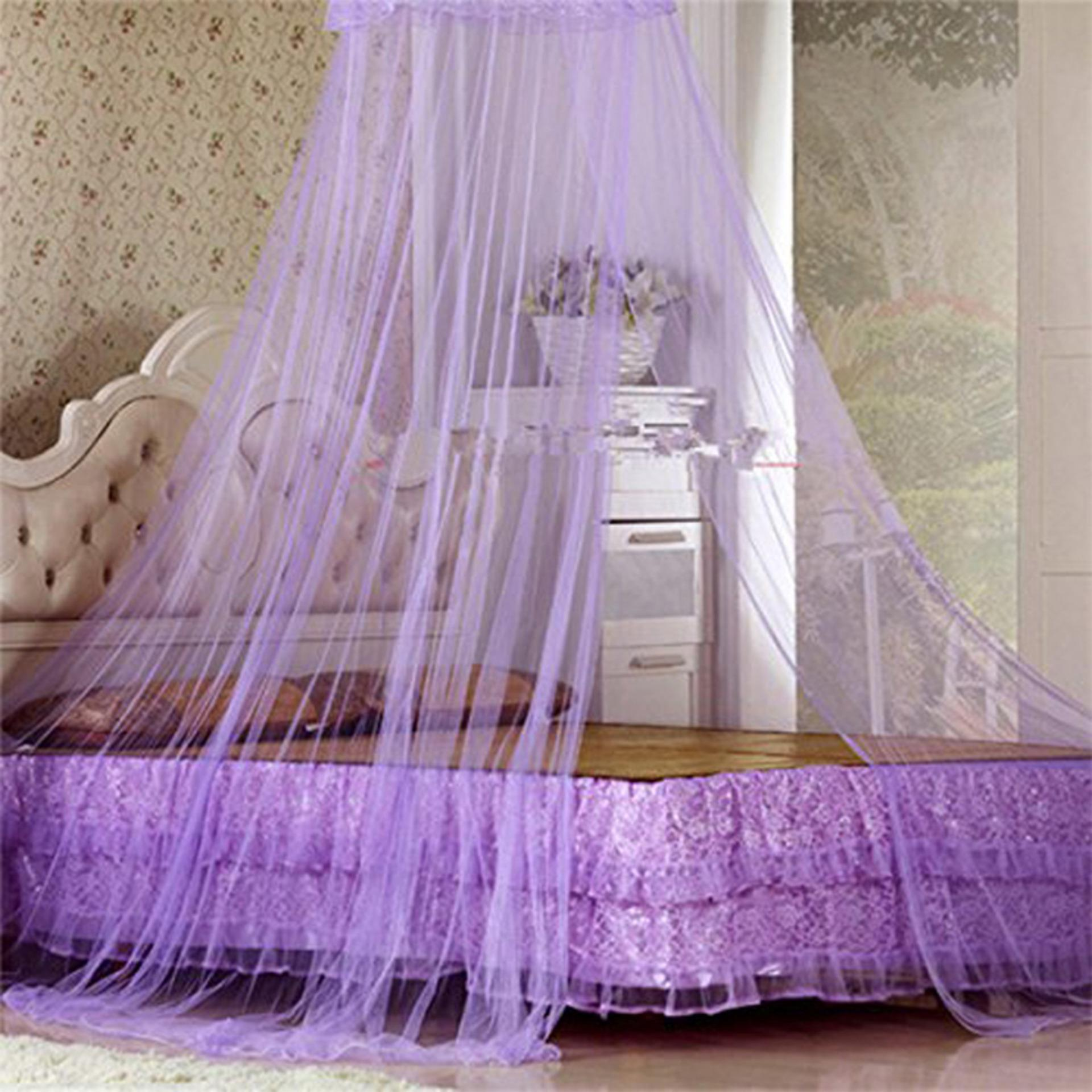 ... SNS Mosquito Net Bed Canopy King/Queen Size (Violet) with AntiMosquito Pest Insect ... & Philippines | SNS Mosquito Net Bed Canopy King/Queen Size (Violet ...