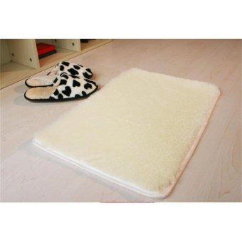 Soft Fluffy Rugs Anti Skid Shaggy Rug Dining Room Home Bedroom Carpet Floor Mat - intl - 2